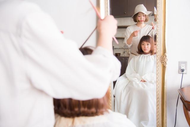美容師派遣の写真